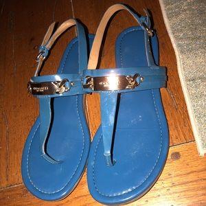Coach blue sandals